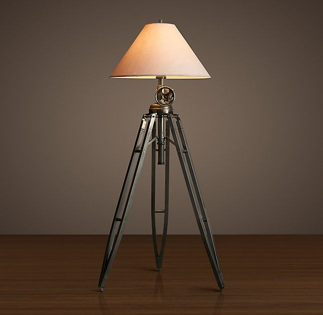 Restoration Hardware   Royal Marine Tripod Floor Lamp. This Is Large And  Tall Enough To