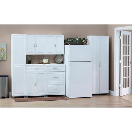 Systembuild 3 Drawer Base Storage Cabinet White 7368401pcom