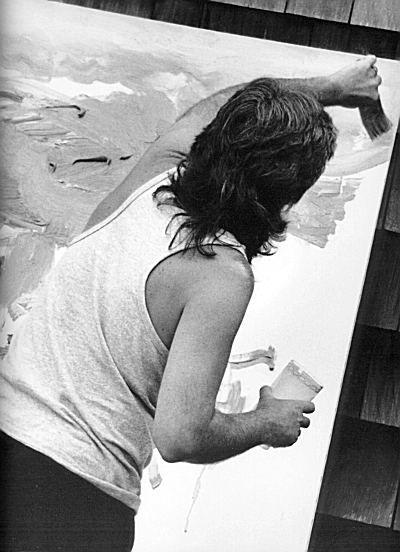 Celebrity artists at work: Paul McCartney