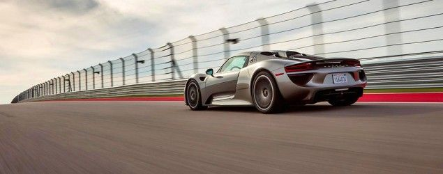 The Porsche 918 Spyder is a green car that's actually fun to drive. (Car and Driver)