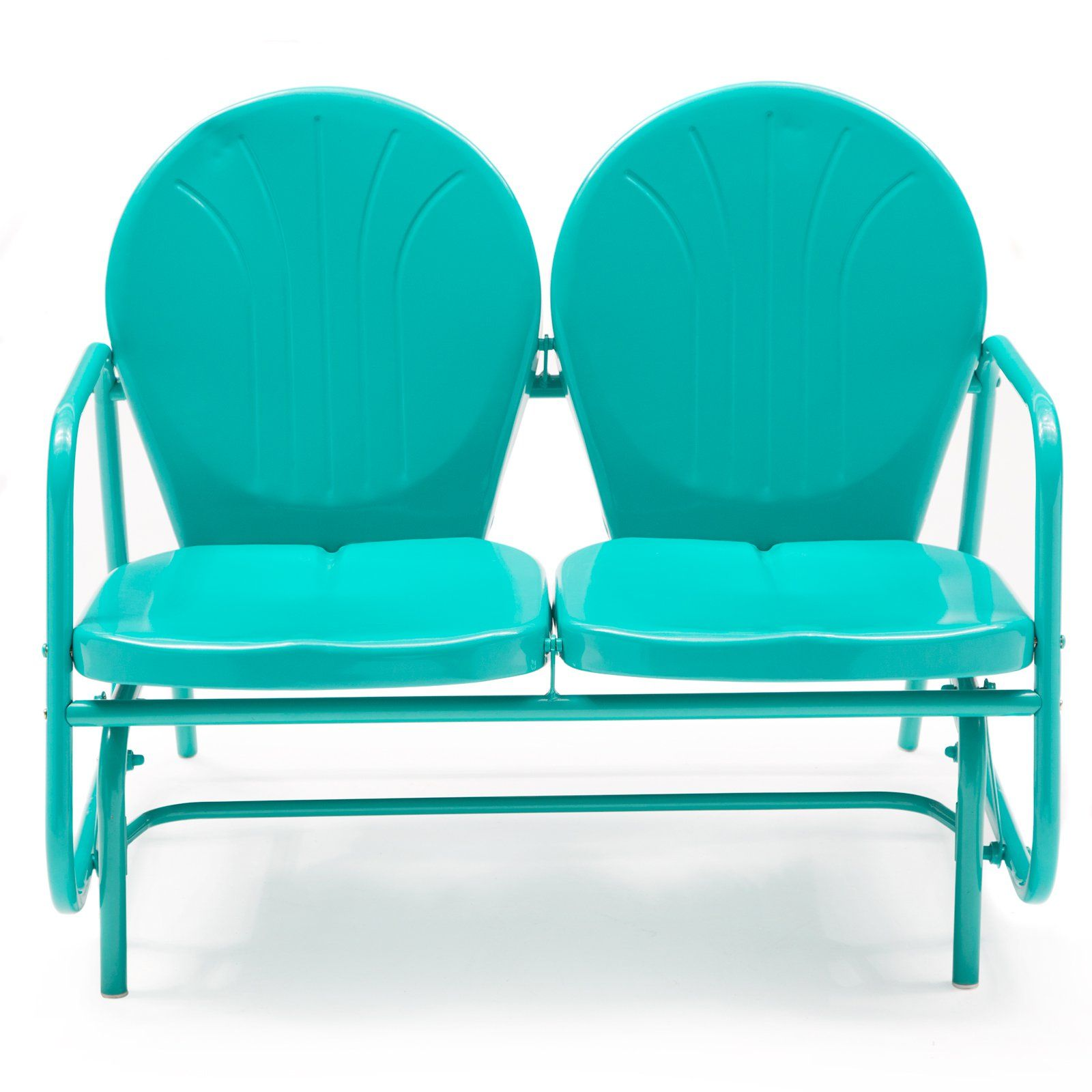 Buy Coral Coast Vintage Retro Outdoor Glider Loveseat Additional