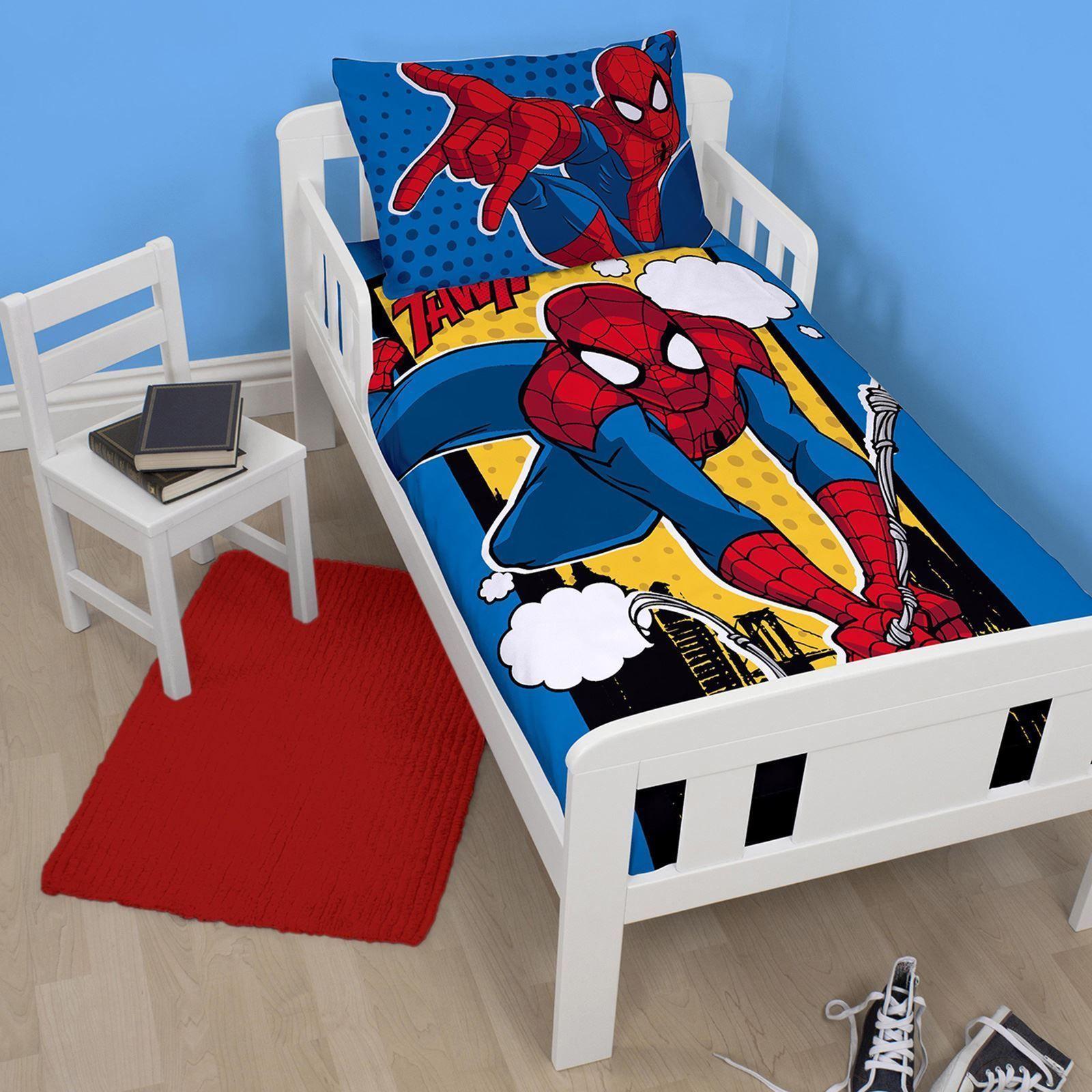 Spiderman Webhead Junior Duvet Cover Set Toddler Bedding