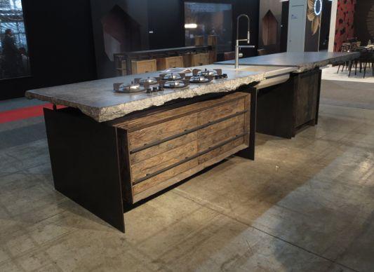 Dirk Cousaert Kitchen Natural Materials Keukens Meubelontwerp Zolder Keuken