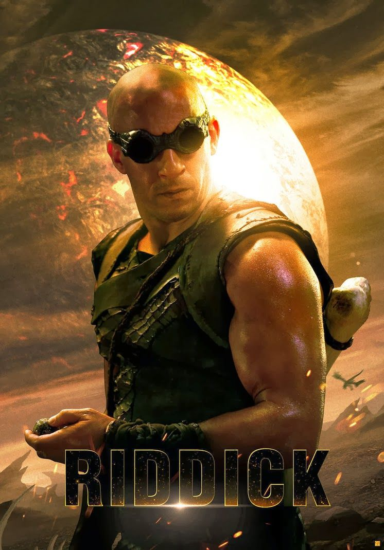 Riddick | Vin diesel, Movie pic, Hottest male celebrities