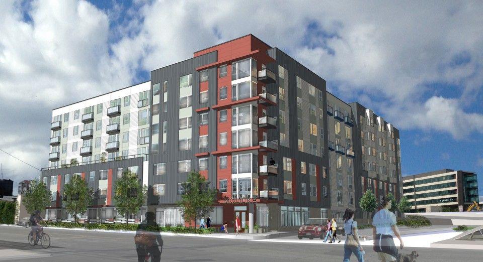 Modera South Lake Union Fish Mackay Architects Llc South Lake Union Seattle Washington Apartments Seattle Apartment
