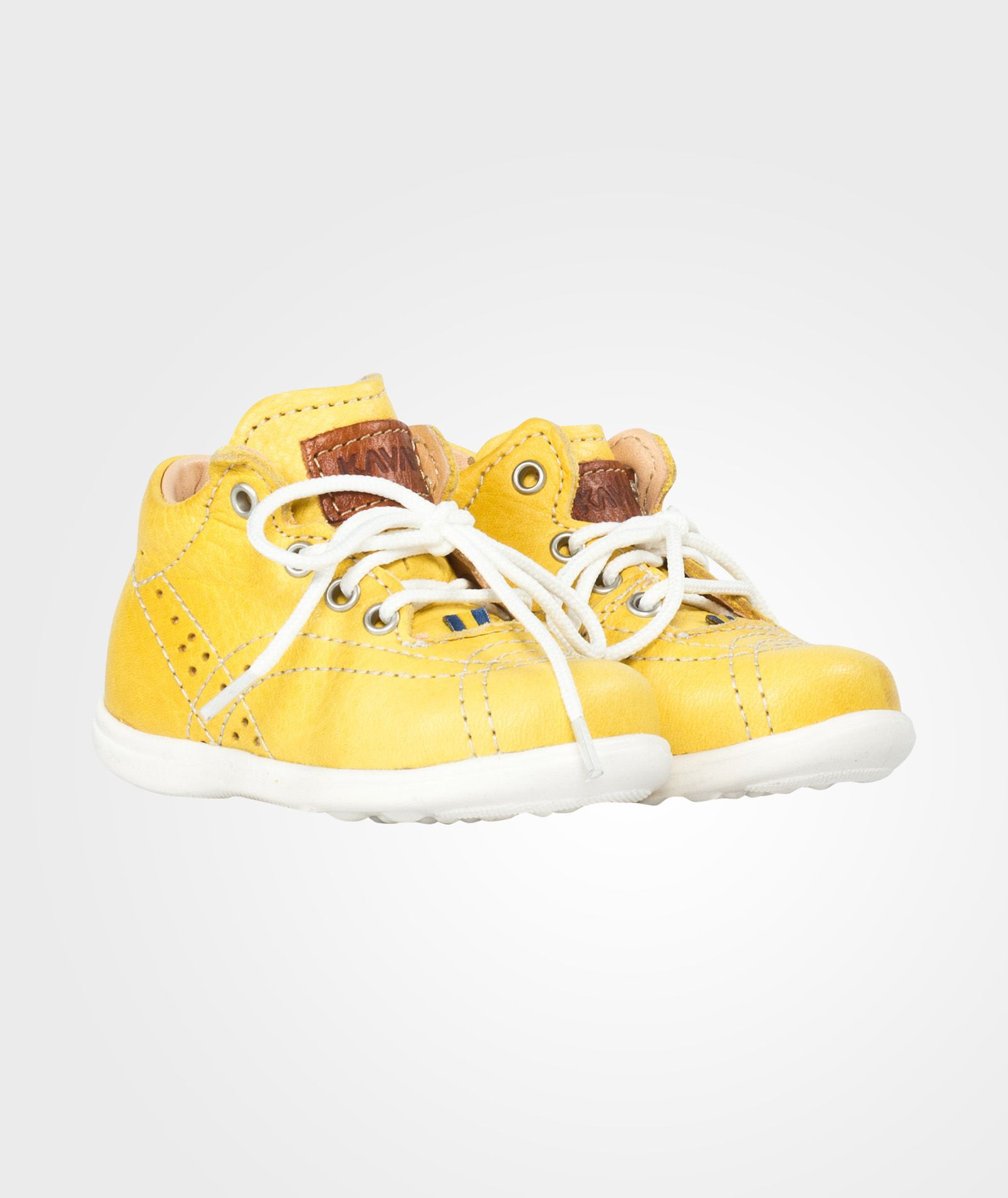 KavatEDSBRO - Baby shoes - yellow Hbj166