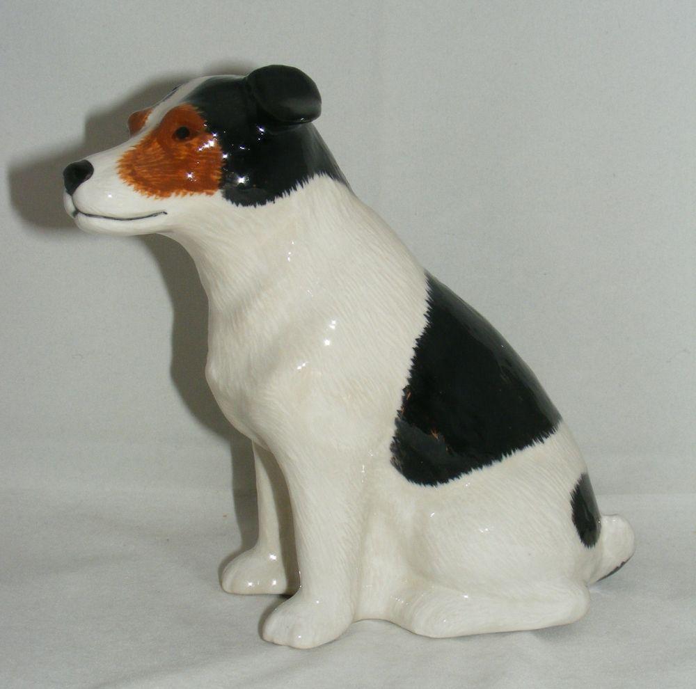 Quail Ceramics Jack Russell Money Box Tri | eBay | Dog