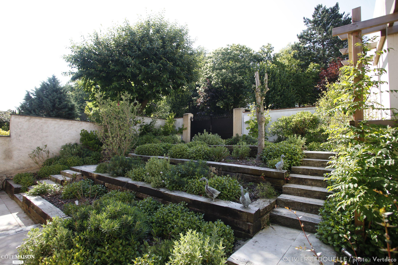 Création d\'un jardin sur 3 niveaux, Olivier Bedouelle - Côté ...