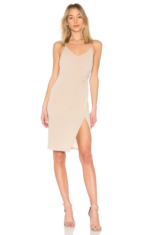 NBD Georgia Dress in Champagne | REVOLVE