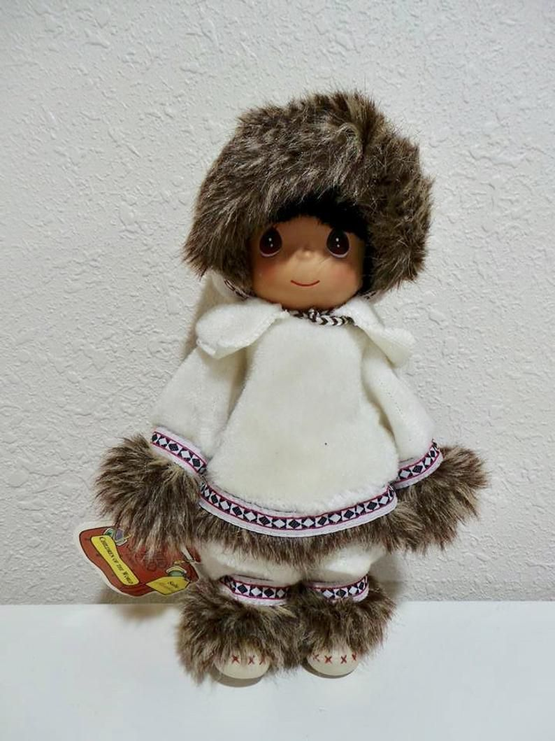 1994 Sulu Alaska Girl Precious Moments Collectible Doll In 2019