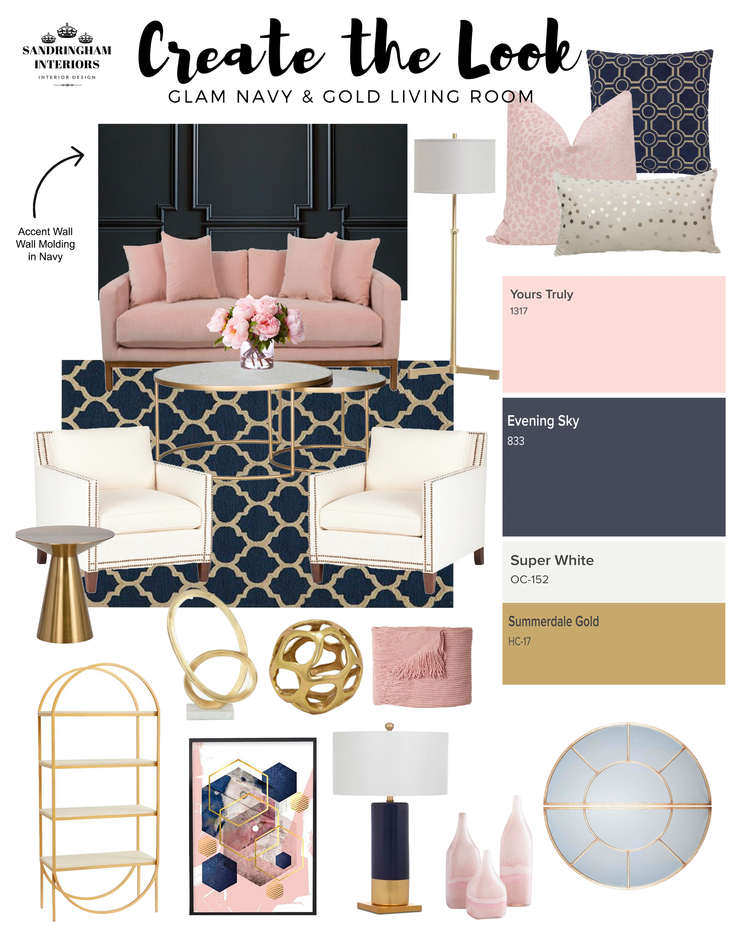 10+ Top Navy Blue Grey And Blush Pink Living Room