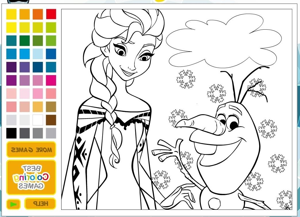 Princess Coloring Pages Online | Coloring Page | Online ...