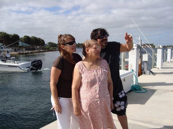 my momma, grandma, and uncleeeeee