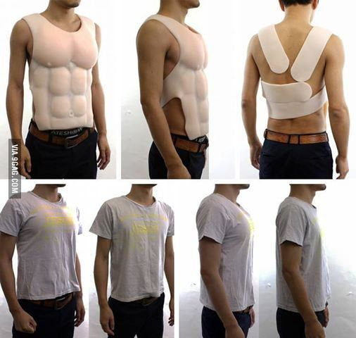 Men's answer to the push-up-bra | The ha, Push up and In fashion