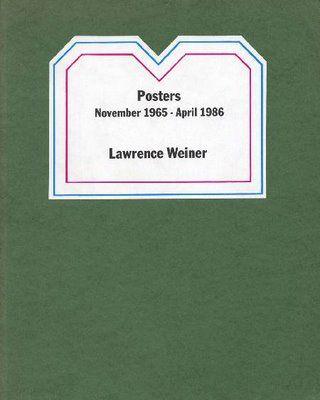 Lawrence Weiner-Homage to Vincent Van Gogh-1990 Poster