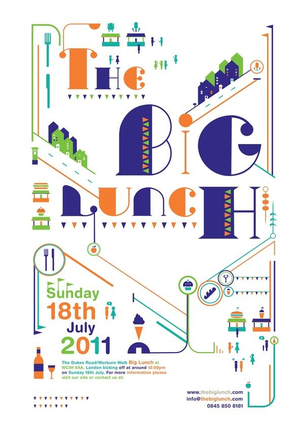 Big Lunch by Petros Afshar, via Behance