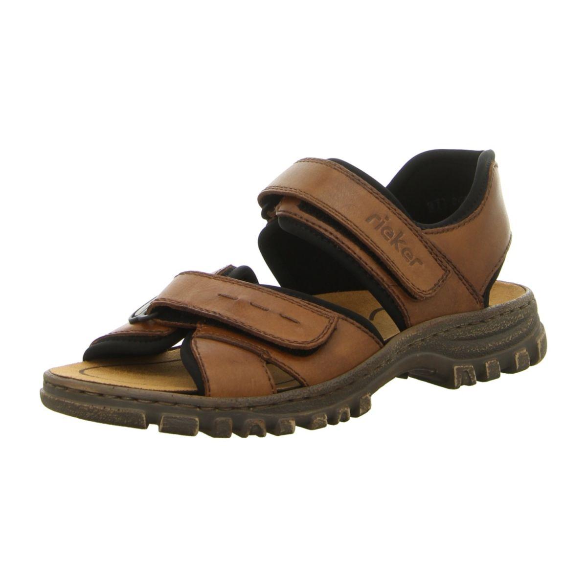 Rieker Herren Sandale in schwarz | SALE Schuhfachmann
