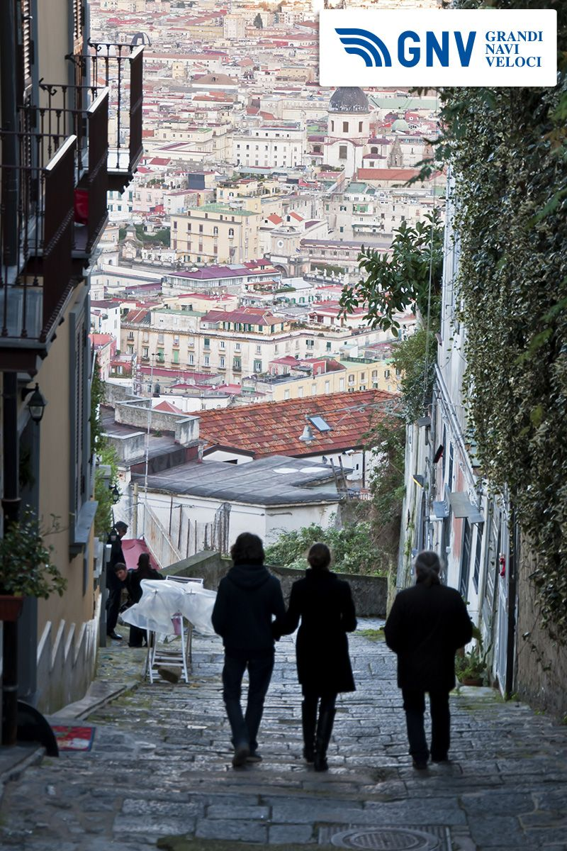 Look at this #cityscape & #urban scene under the #vesuvius in the #city of #Naples, #Italy. Do you like it?    Discover #GNV routes from/to #Napoli here: http://www.gnv.it/en/ferries-destinations/naples-ferries-campania.html