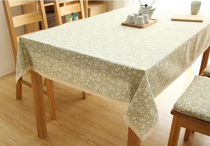 Cotton Small Calico Tablecloth For Dining Table Tea Table Cabinit Bedstand Table Cloth Tea Table Dining Table
