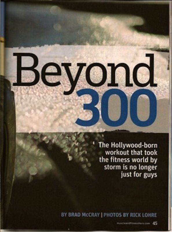 Muscle and Fitness Hers- Beyond 300 Workout • Julie Lohre