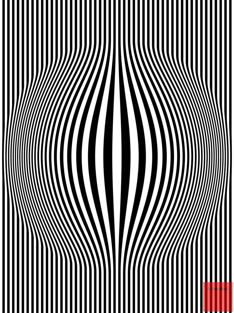 easy optical illusions - 736×981
