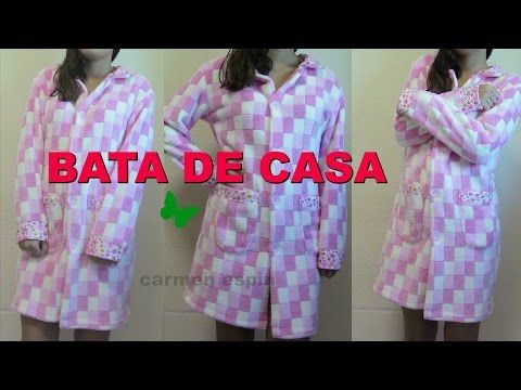 BATA DE CASA:DIY - YouTube