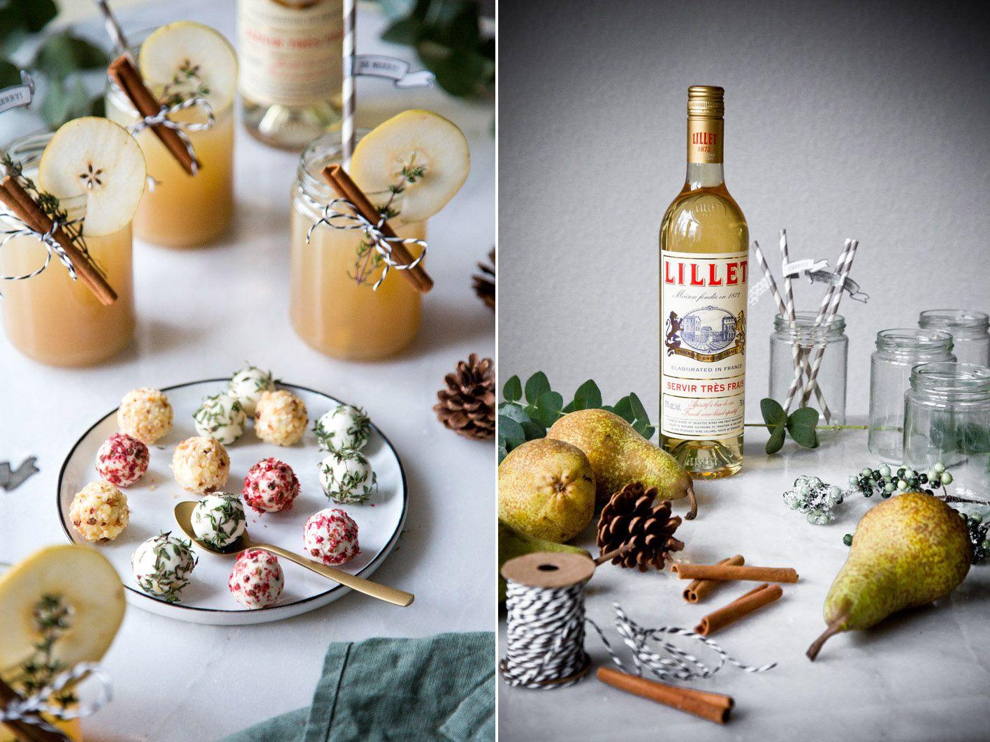 Der perfekte Weihnachts-Drink: Lillet Winter Thyme. #drinks