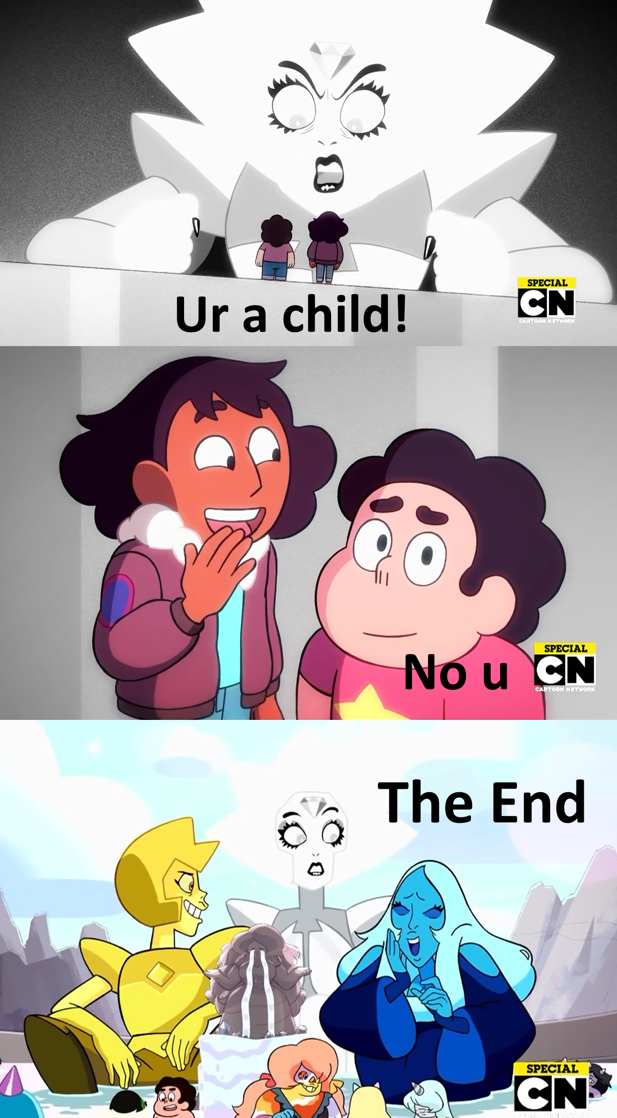 So this was basically Change Your Mind, right? : stevenuniverse ...