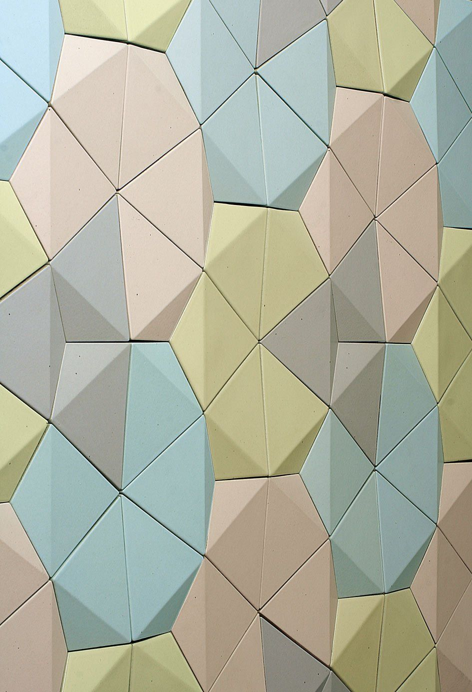 origami tiles | Rouai | Pinterest | Origami, Walls and Patterns