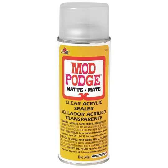 Mod Podge Clear Acrylic Sealer Matte Mod Podge Clear Acrylic Mod Podge Spray