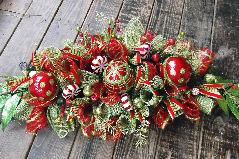 I love beautiful colorful christmas decorations holiday fun