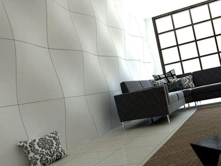 Revestimiento de pared 3D de material compuesto para interiores y exteriores DURALMOND by GRUPPO SOGIMI