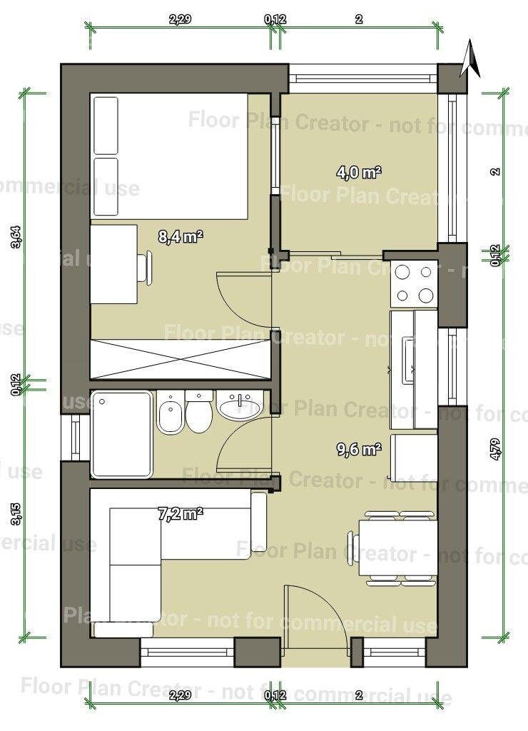 20 quonset hut homes design great idea for a tiny house for Planos para casas pequenas