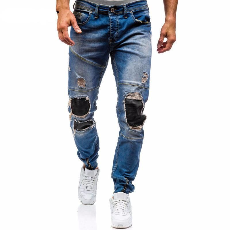 Ripped Jeans Men 2017
