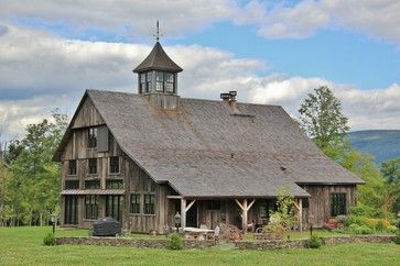 Post And Beam Barn Home Design Ideas, Pictures, Remodel, and Decor ...