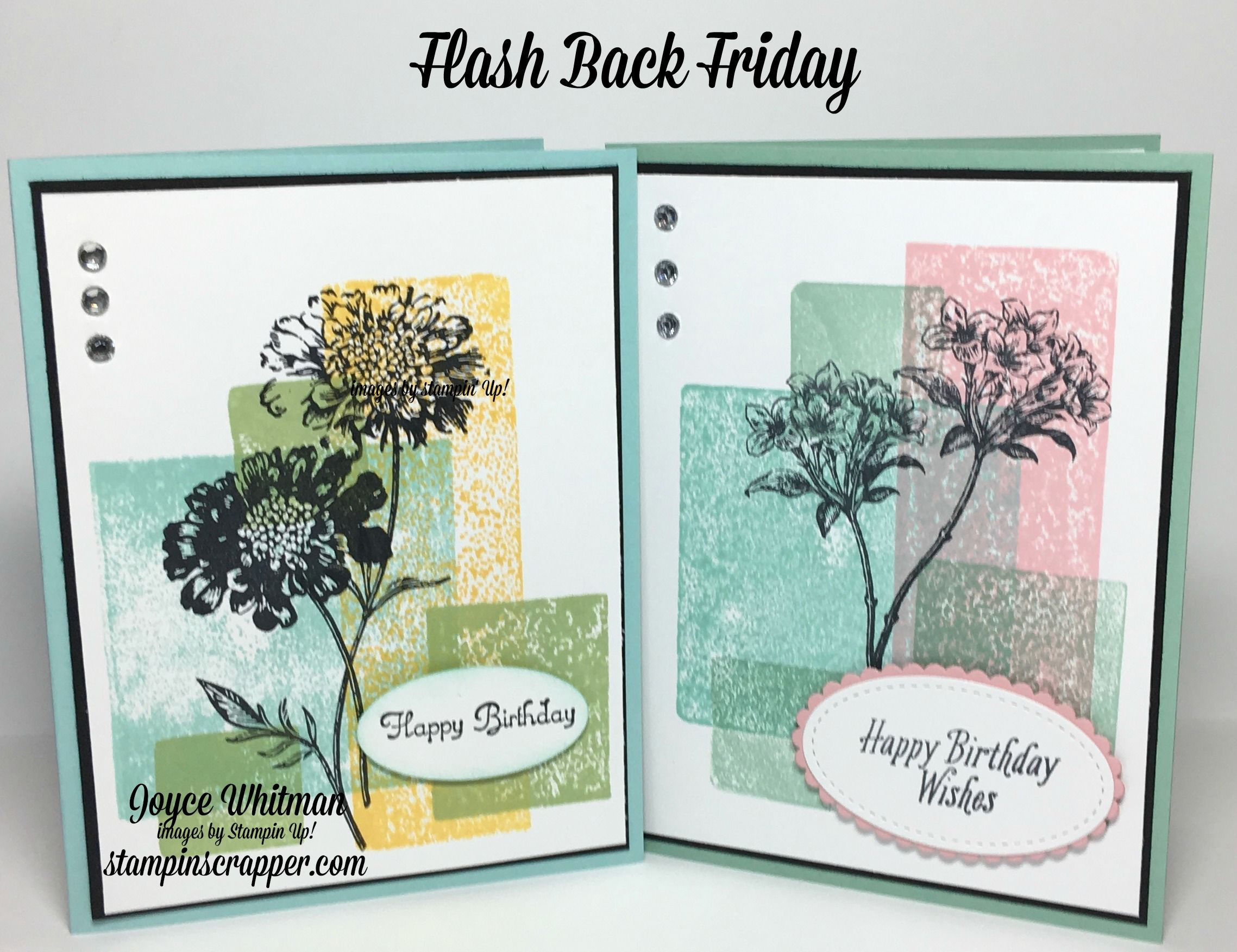 Flash back friday with avant garden birthdays cards and card ideas