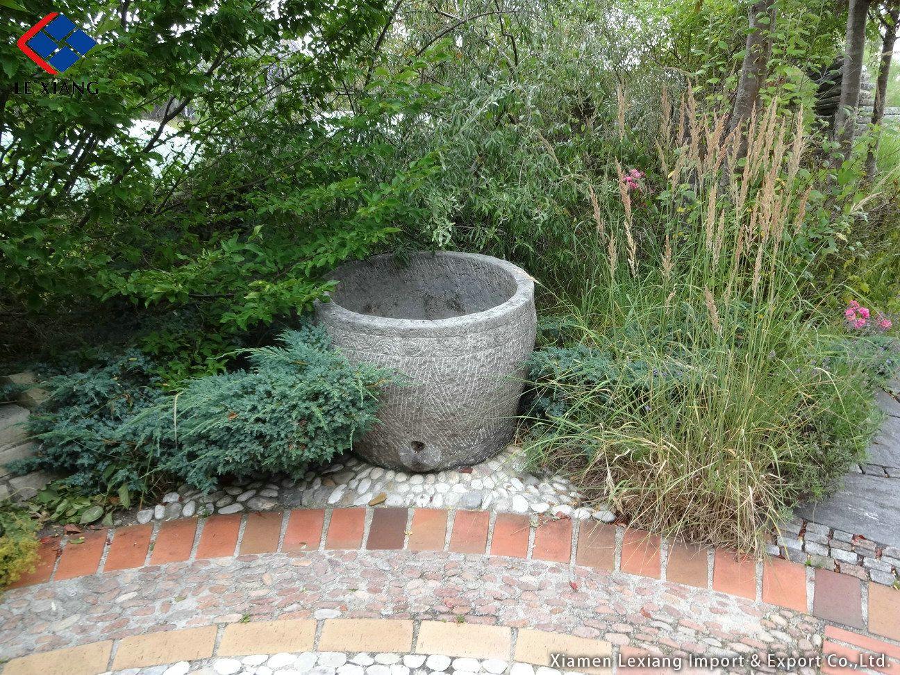 Pin von Xiamen Lexiang auf Trog Patio, Outdoor decor und Home Decor ~ 07114926_Gartenteichgestaltung Wasserfall