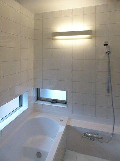 白タイル02 バスルーム 風呂