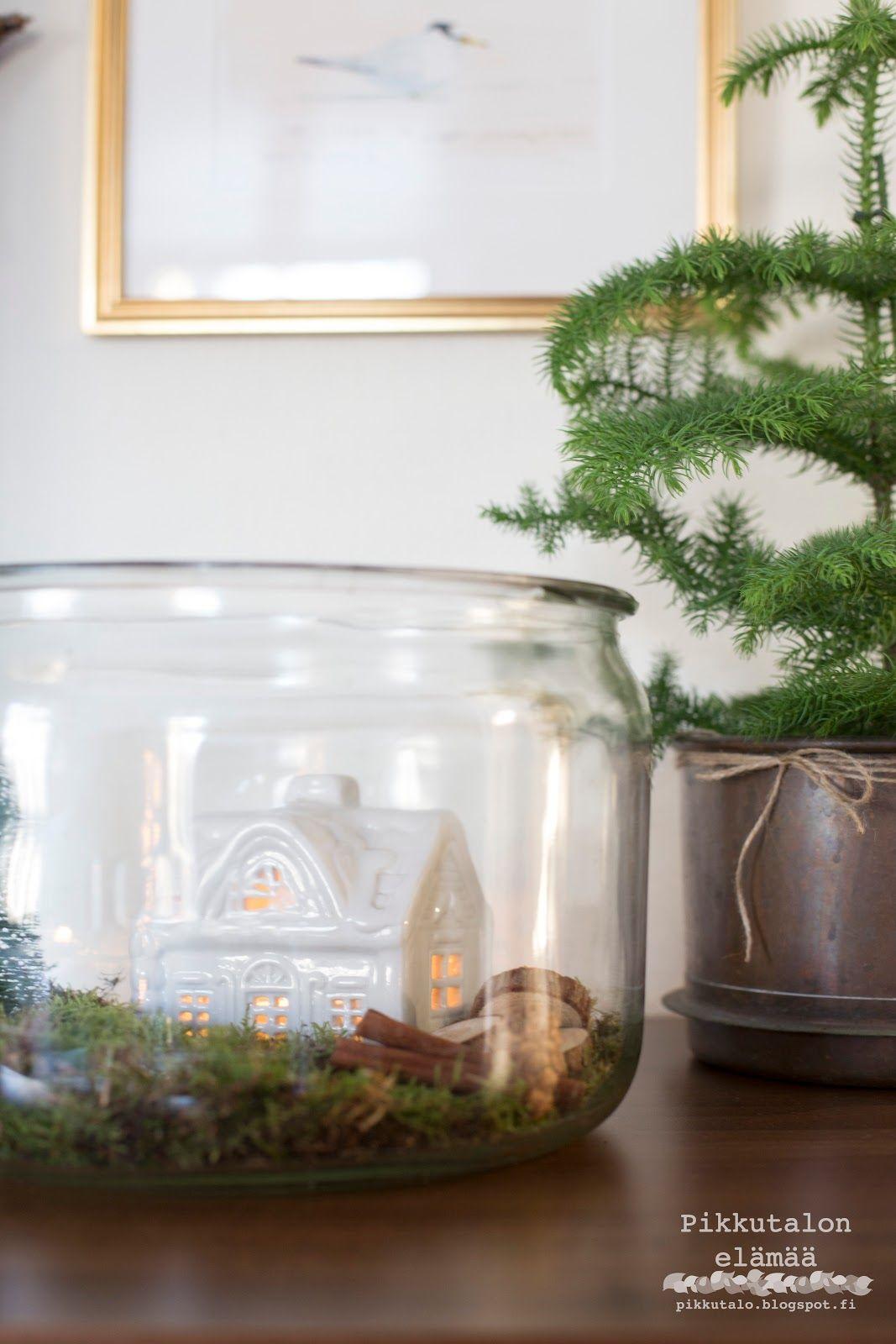 Joulun tunnelmia Pikkutalossa