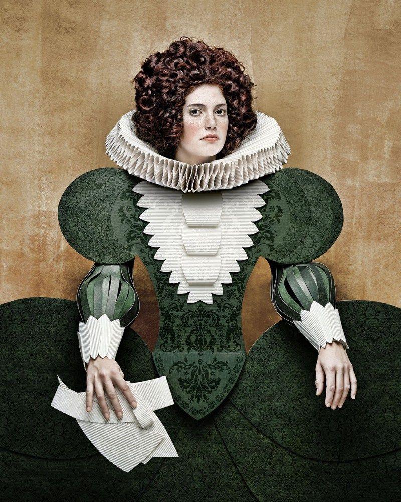 christian tagliavini 17th century chicquero dame di cartone