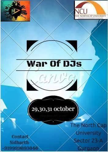 First Time In Momentum 2015 War Of Djs Events At Ncu First