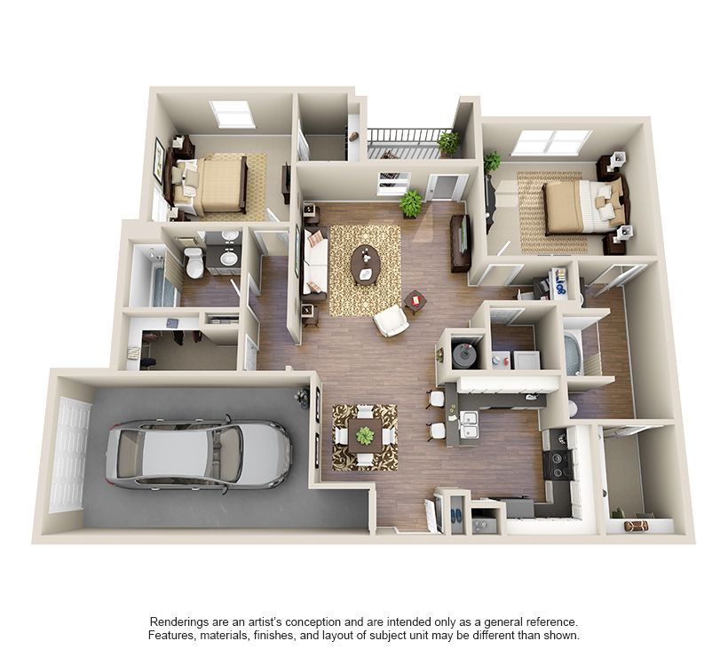 One, Two And Three Bedroom Luxury Apartments In Houston