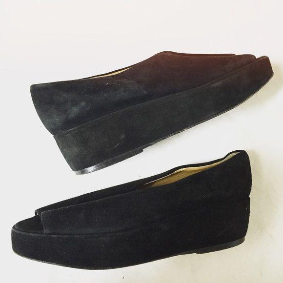 69277843b3b6b Vintage Joan & David handmade in Italy platforms In good condition ...