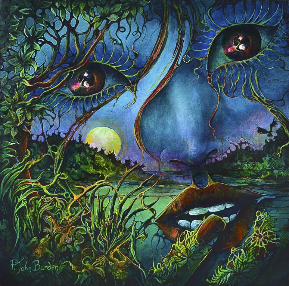 Dark Gaia by P. John Burden   Artist: P. John Burden   Pinterest