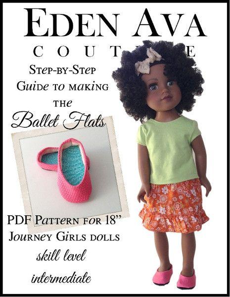 Ballet Flats For Journey Girls Dolls