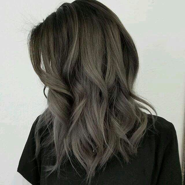 Dusty Grey Hair With Images Ash Hair Color Ash Brown Hair