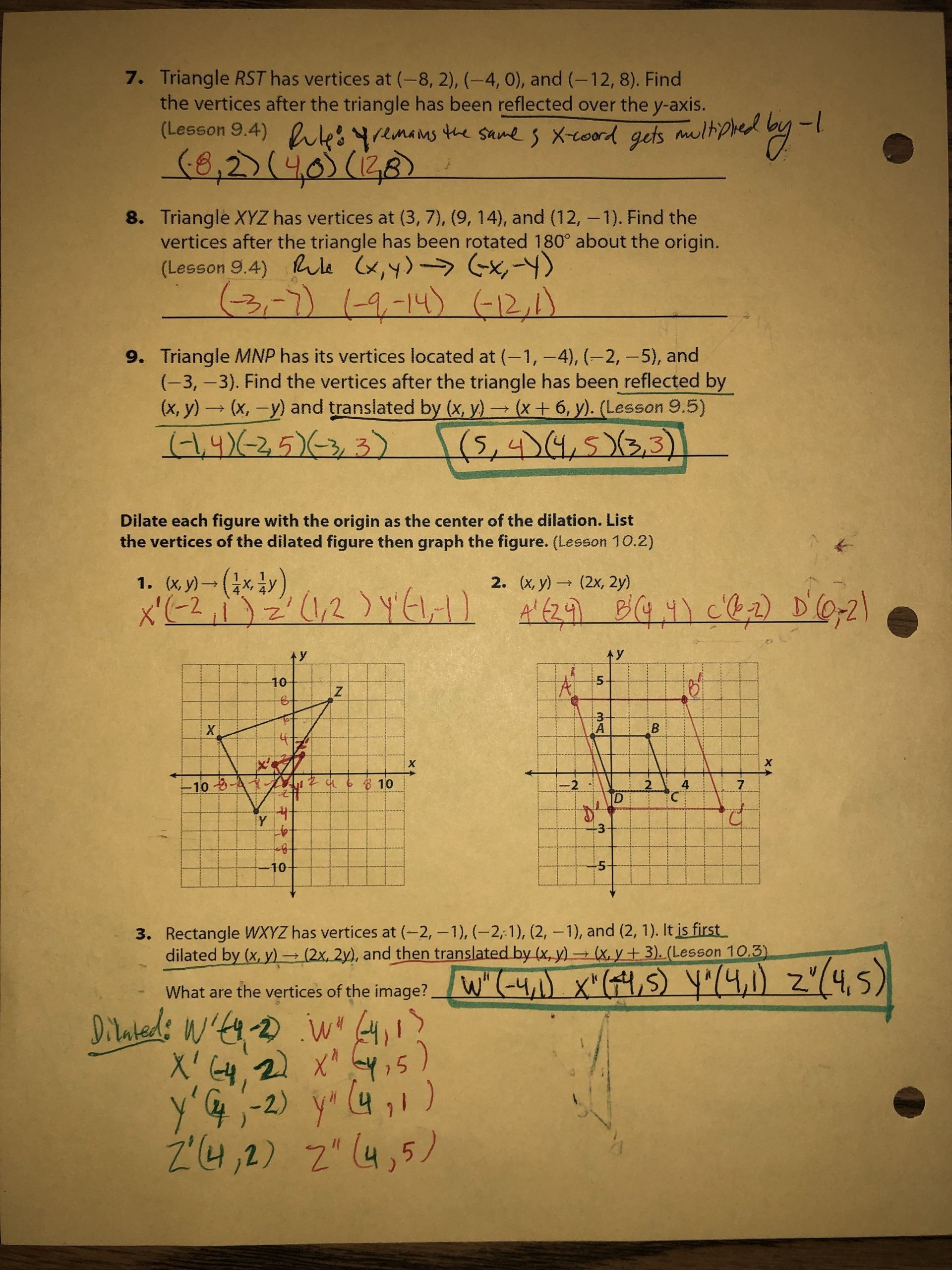 10 Formal Graphing Linear Equations Worksheet Answers