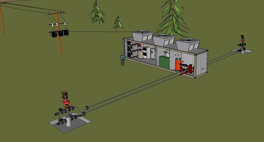 Minigeo A Small Scale Off Grid Geothermal Power Plant For