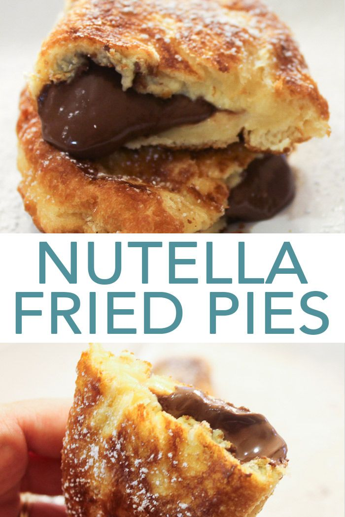 Nutella Fried Pies: A Quick and Easy Dessert Idea images