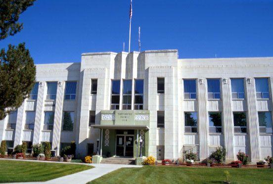 Washington County Courthouse in Idaho.